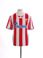 2013-14 Red Star Belgrade Home Shirt *Mint* L