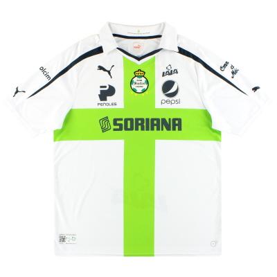 2013-14 Santos Laguna Puma '30 Years' Away Shirt XL
