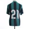 2013-14 Sassuolo Home Shirt #21 L