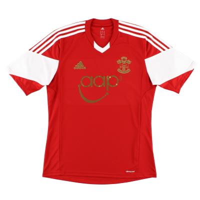 2013-14 Southampton adidas Home Shirt M
