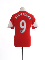 2013-14 Southampton Home Shirt Rodriguez #9 XL.Boys