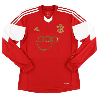 2013-14 Southampton adidas Home Shirt L/S M