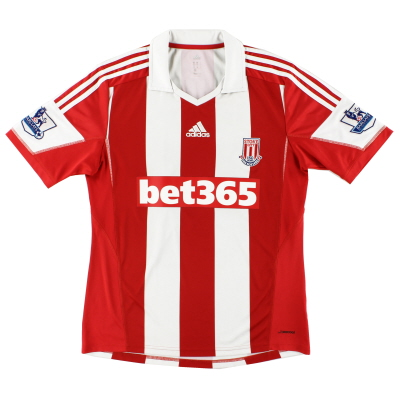 2013-14 Stoke City adidas '150 Years' Home Shirt S