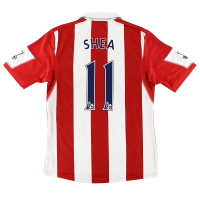 2013-14 Stoke City adidas '150 Years' Home Shirt Shea #11 M