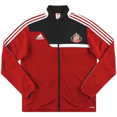 2013-14 Sunderland adidas Tiro 13 Training Jacket M