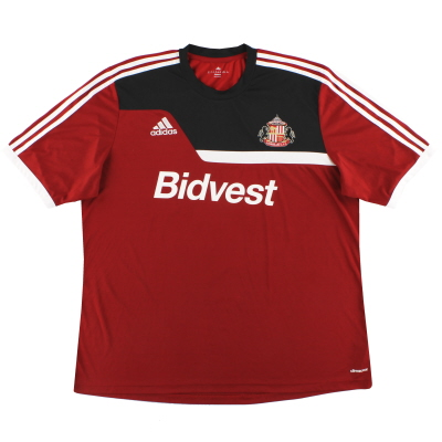2013-14 Sunderland adidas Training Shirt XXL