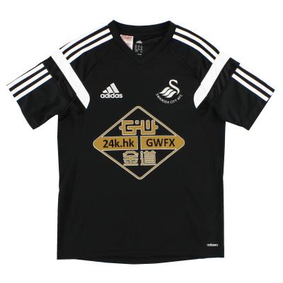 2014-15 Swansea City adizero Training Shirt *Mint* XL.Boys