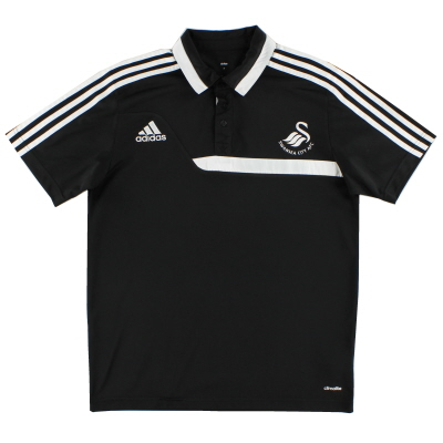2013-14 Swansea City Polo Shirt L
