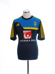 2013-14 Sweden adidas Training Shirt L