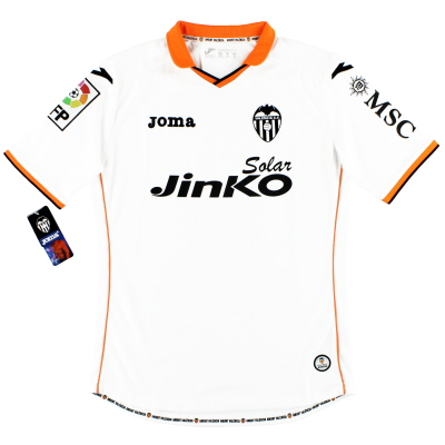 2013-14 Valencia Joma Home Shirt w/tags* M