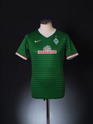 2013-14 Werder Bremen Home Shirt S