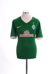 2013-14 Werder Bremen Home Shirt *Mint* M