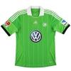 2013-14 Wolfsburg adidas Away Shirt Schafer #4 *Mint* M
