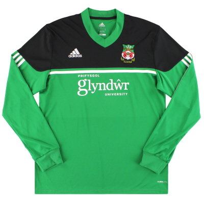 2013-14 Wrexham adidas Away Shirt L/S *Mint* L