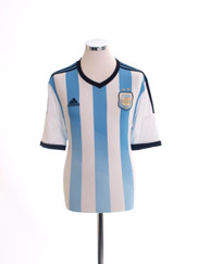 2013-15 Argentina Home Shirt *Mint* XL