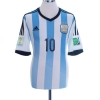 2013-15 Argentina Home Shirt Messi #10 *Mint* M