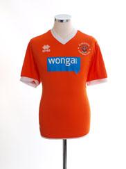 2013-15 Blackpool Home Shirt *Mint* M