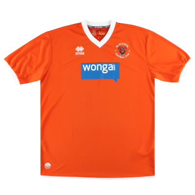 2013-15 Blackpool Errea Home Shirt XXXL