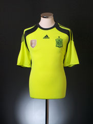 2013-15 Spain Goalkeeper Shirt *BNIB*