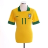 2013 Brazil Home Shirt Neymar #11 *As New* M