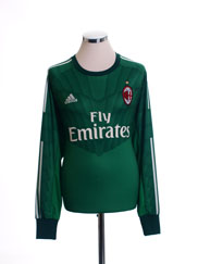 2014-15 AC Milan Goalkeeper Shirt *Mint* XL