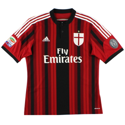 2014-15 AC Milan Home Shirt S