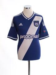 2014-15 Anderlecht European Home Shirt #20 M