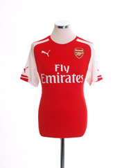 2014-15 Arsenal Home Shirt 4XL