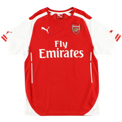 2014-15 Arsenal Home Shirt L.Boys