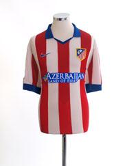2014-15 Atletico Madrid Home Shirt XXL