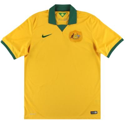 2014-15 Australia Nike Home Shirt L