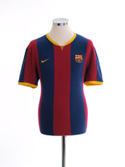 2014-15 Barcelona Authentic Cotton Jersey T-Shirt M