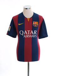 2014-15 Barcelona Home Shirt XL.Boys