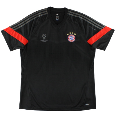 2014-15 Bayern Munich adidas Champions League Training Shirt *Mint* XL