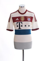 2014-15 Bayern Munich Away Shirt *Mint* M