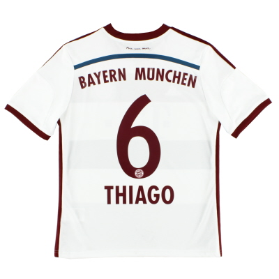 2014-15 Bayern Munich Away Shirt Thiago #6 Y