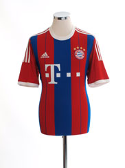 2014-15 Bayern Munich Home Shirt *Mint* M
