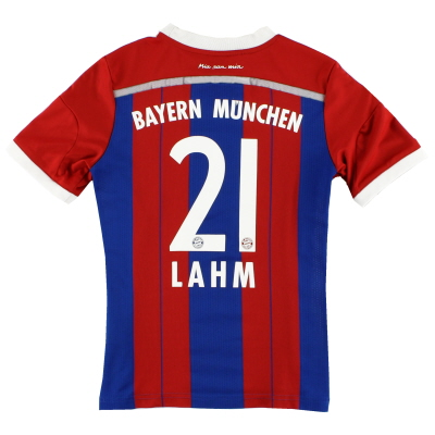 2014-15 Bayern Munich Home Shirt Lahm #21 Y