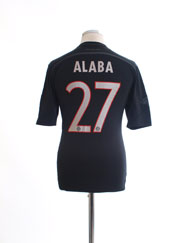 2014-15 Bayern Munich Third Shirt Alaba #27 S