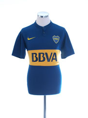 2014-15 Boca Juniors Home Shirt S