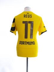 2014-15 Borussia Dortmund Home Shirt Reus #11 M