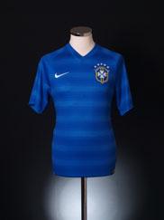 2014-15 Brazil Away Shirt S
