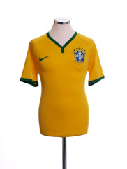 2014-15 Brazil Home Shirt #10 L