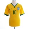 2014-15 Brazil Home Shirt Neymar Jr #10 M