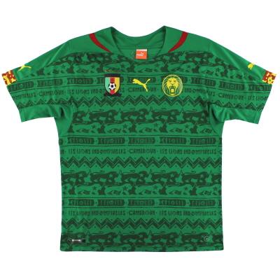 2014-15 Cameroon Puma Home Shirt L