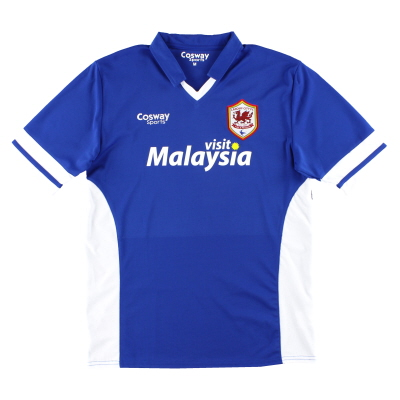 2014-15 Cardiff City Away Shirt *Mint* M