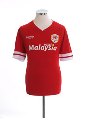 2014-15 Cardiff City Home Shirt *Mint* M