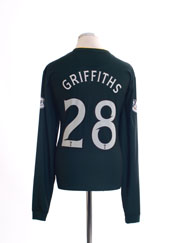 2014-15 Celtic Away Shirt Griffiths #28 L/S *Mint* XL