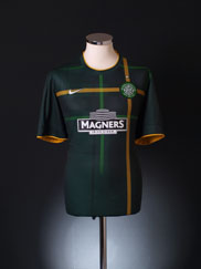2014-15 Celtic Away Shirt S