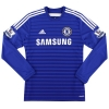 2014-15 Chelsea Home Shirt Diego Costa #19 L/S *Mint* M